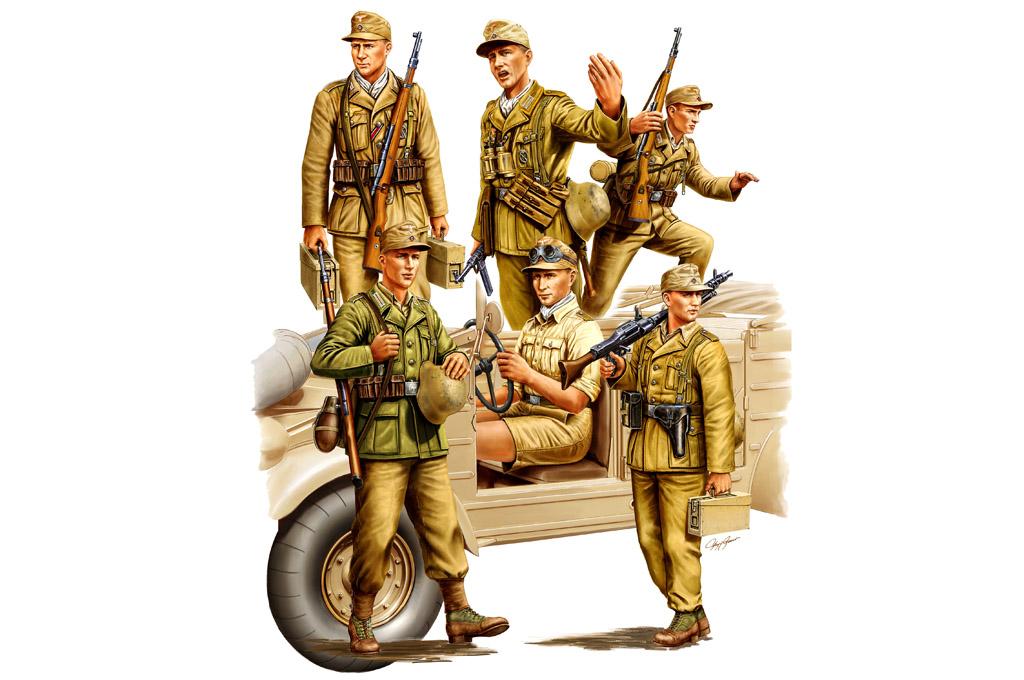 Soldats allemands Hobby Boss