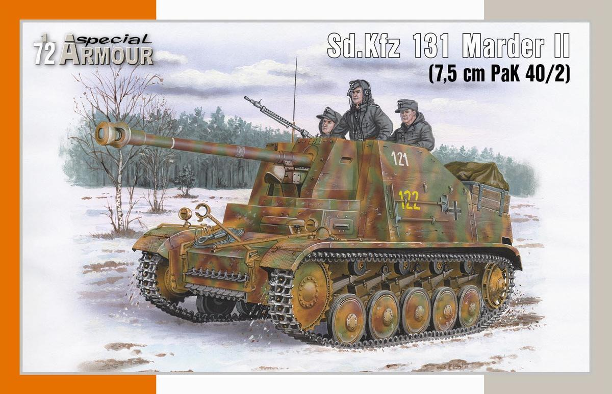 Tank Allemand marder Special Hobby