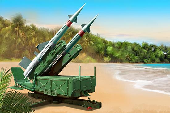 Maquette Trumpeter Lanceur de missile