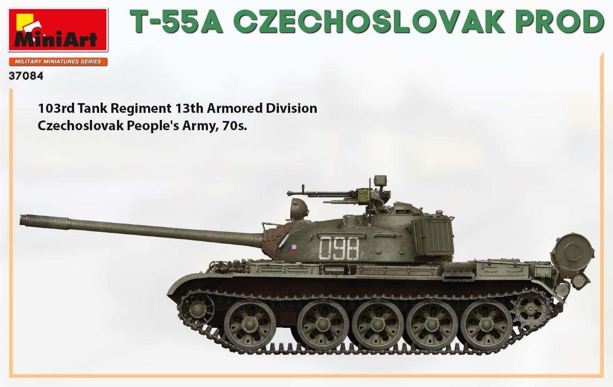 T-55A CZECHOSLOVAK PRODUCTION 1