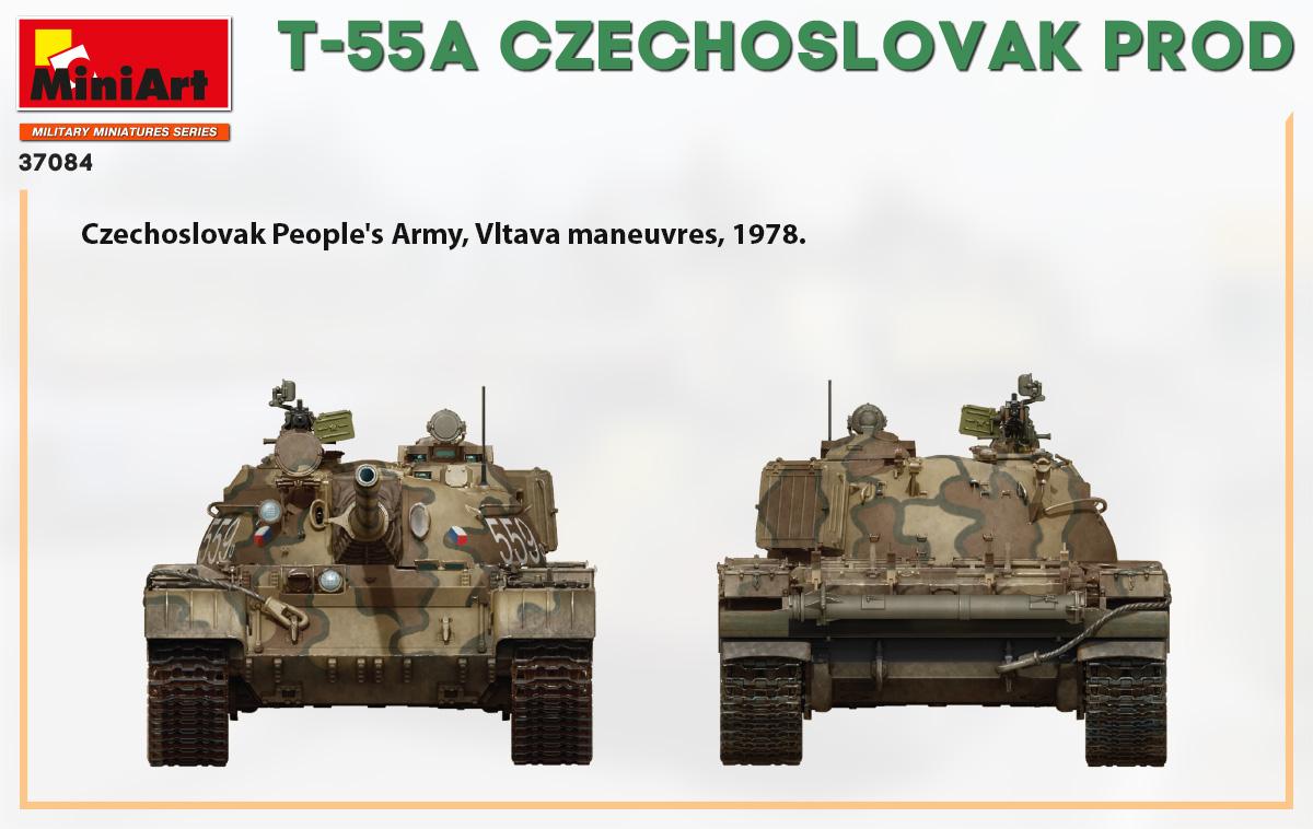 T-55A CZECHOSLOVAK PRODUCTION