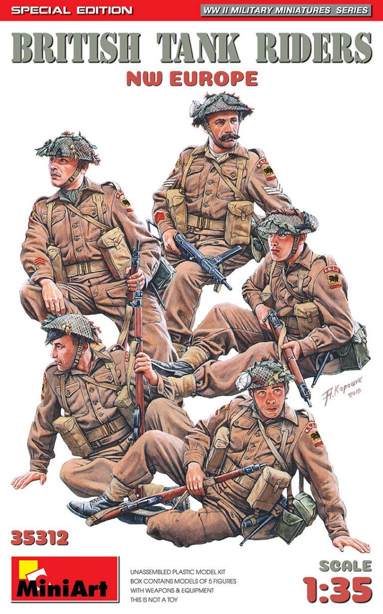 British Tank riders